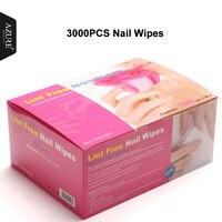 Azure Beauty 3000Pcs Box Manicure Towel Disposable Nail GEL Clean Towel High Quality Acupuncture Cotton Manicure