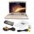 "DC12V 15.4 ""pulgadas Coche/Autobús TFT LCD Monitor de Montaje En Techo, Tapa de Monitor de Entrada De Vídeo De 2-vías TV USB SD FM VGA altavoz # CA1291"