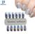 1 g/caja Láser Plata Espejo Cromo En Polvo de Brillo Del Polvo Del Polvo Del Arte Del Clavo de Manicura DIY Decoración Pigmento Para Uñas JH428