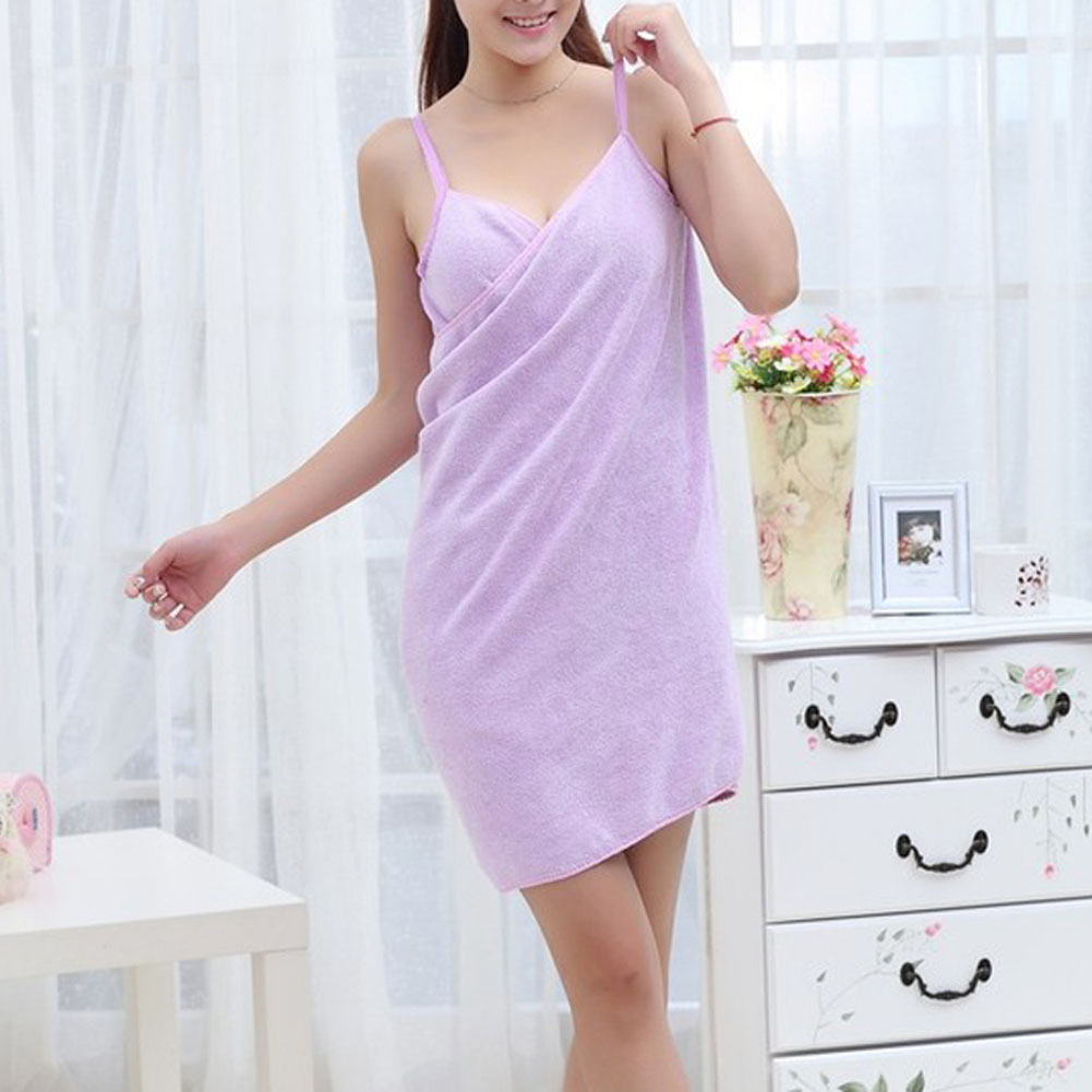 Bath and Beach Microfiber Wearable Women Sexy Towel 4