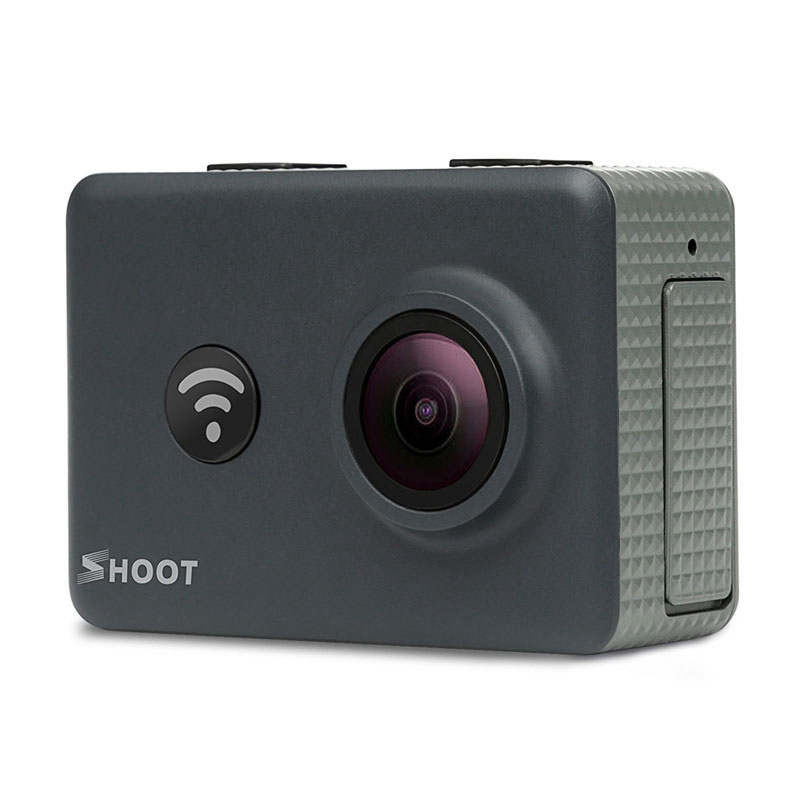 Shoot XTGP436 2 Inch Screen 16MP 1080P 30FPS 170 Degree Wide Angle WIFI Sport Action Camera with Remote Control gitup git1 1 5 inch lcd wifi rf control action camera