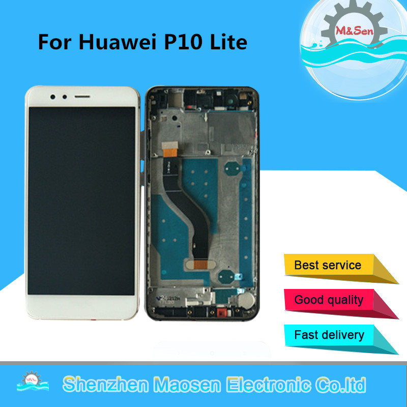 M&Sen For Huawei P10 Lite P10Lite LCD Screen Display+Touch Panel Digitizer With Frame WAS-LX2J WAS-LX2 WAS-LX1A WAS-L03T WAS-LX3M&Sen For Huawei P10 Lite P10Lite LCD Screen Display+Touch Panel Digitizer With Frame WAS-LX2J WAS-LX2 WAS-LX1A WAS-L03T WAS-LX3