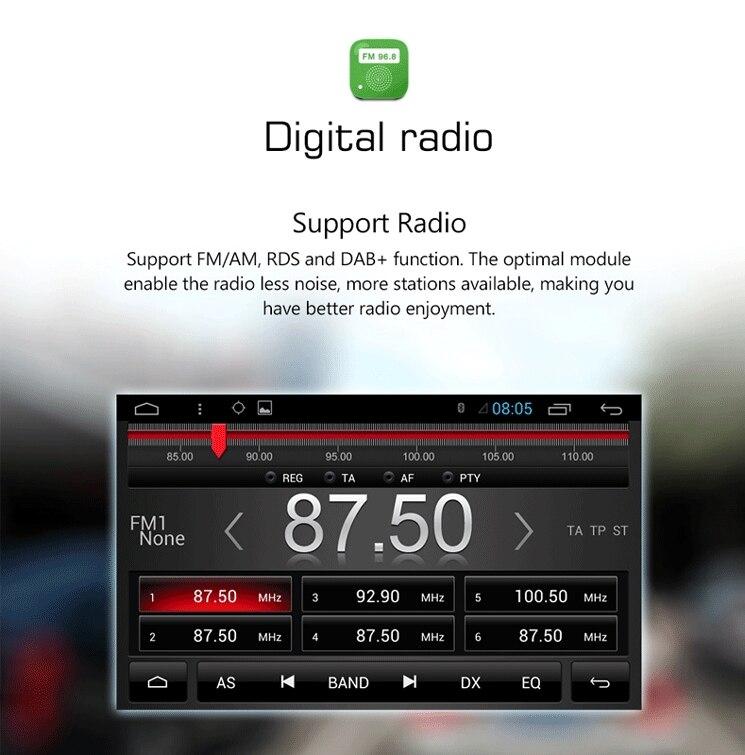 "Flash Deal 7"" HD  Quad Core Android 6.0 2 Two Din Universal Car DVD Radio GPS Stereo Navigation Playe for old Nissan Hyundai Kia 7"