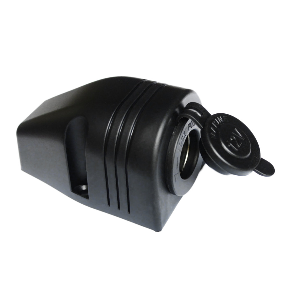 Automobile 12/24V Outlet Marine Boat Caravan Car Cigarette Lighter Splitter Power Socket Adapter Connector New Dropping Shipping