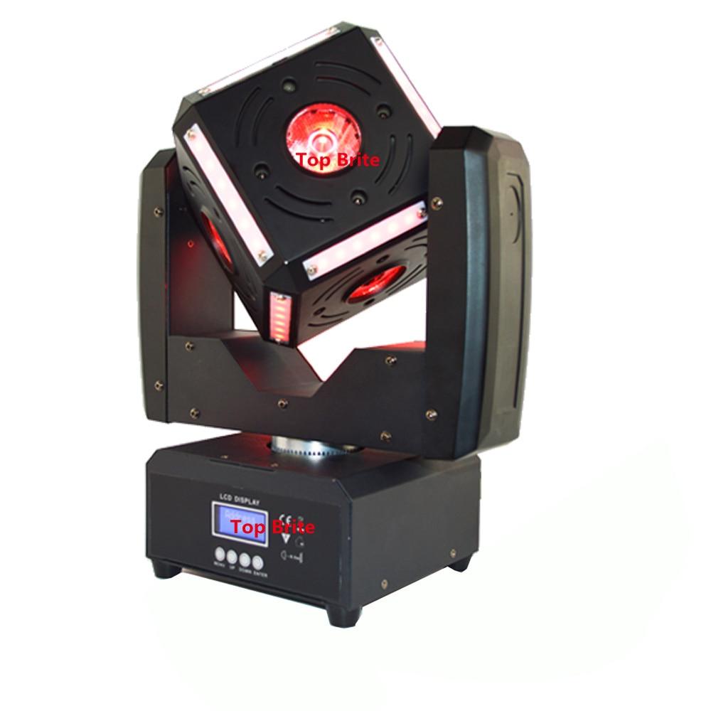 Gratis forsendelse Varmt salg 6x12W 4IN1 RGBW Led Cube Moving Head - Kommerciel belysning - Foto 3
