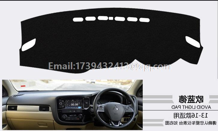 For Mitsubishi Outlander P Hev 2012 2013 2014 2015 2016 Dashmats Car Styling Accessories