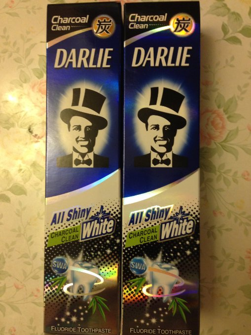Free, delivery 4 packs of Darlie Charcoal All Shiny Whitening Toothpaste защитное стекло skinbox для apple iphone 5 5s se