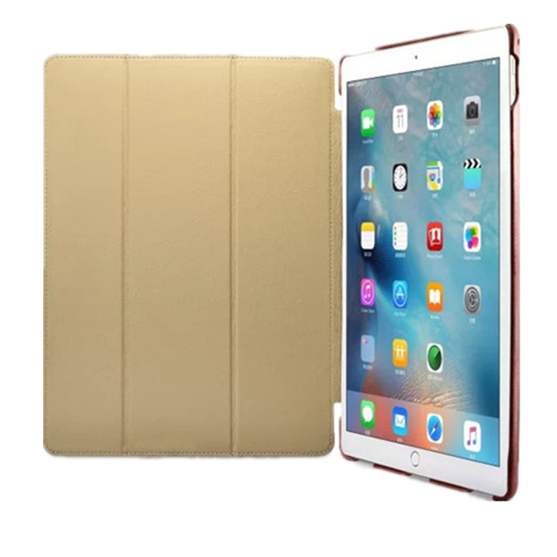 все цены на Icarer Retro case For ipad pro 12.9'' new fashion real leather Flip Tablet Case cover for Apple iPad pro 12.9 protective stand
