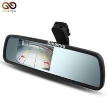 Бесплатная Доставка, новый 4.3 «TFT-LCD Специальное Зеркало Заднего Вида Автомобиля Монитор с Оригинальным Кронштейном, Автомобиль Видео Монитор Помощи При Парковке