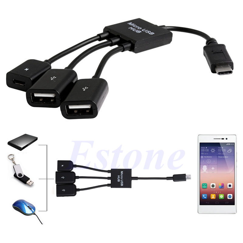 Computer & Office Intelligent Type C Male To Usb 3.0 Otg Female With Keychain For Samsung S8 S9 Huawei P10 P20 Crease-Resistance