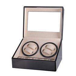 США/ЕС/Австралия/Великобритания вилка автоматические механические часы моталки Коробка Для Хранения Чехол держатель 4 + 6 Коллекция Часы Ди...