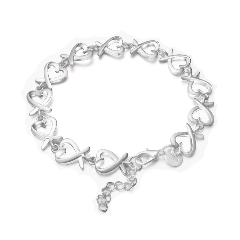 New Fine silver plated wholesale jewelrys,Hot sale Factory price charm free shipping fashion Gloss Twisted Thick Bracelets S186