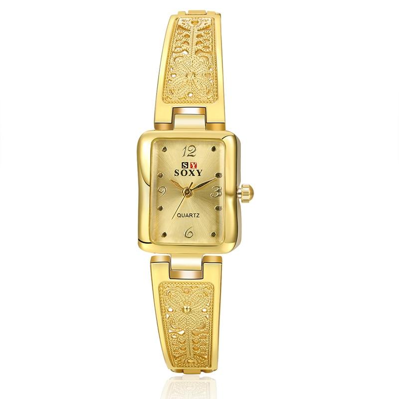 SOXY Women New Brand Vintage Watches Elegant Luxury Quartz Fashion Bracelet Watch Casual Wristwatch Womens Relogio Feminino 2018