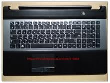 Rus touchpad ile Yeni laptop klavye palmrest samsung BA75-03203C RC730 RC530 RC728
