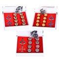 10 pçs/set 3 Cores Assassins Creed Colar Anéis Presente Encaixotado Figuras de Ação Brinquedos Modelo Frete Grátis