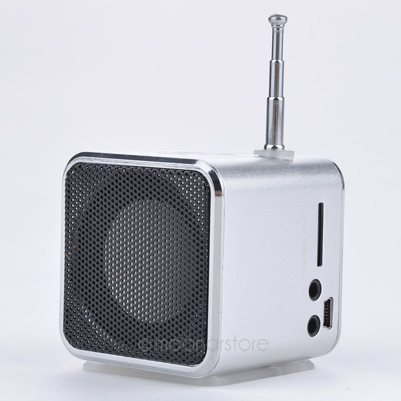 promotion price unique td v26 micro sd tf usb mini speaker music player portable fm radio stereo. Black Bedroom Furniture Sets. Home Design Ideas