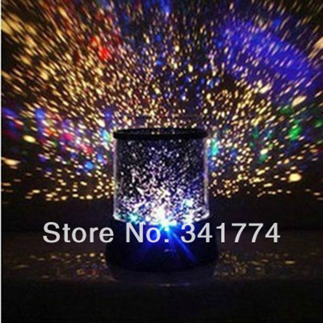 LED Planetarium Night Lights Starry Sky Star Master Projector Lamp Creative  Gift For Kid Bedroom Party