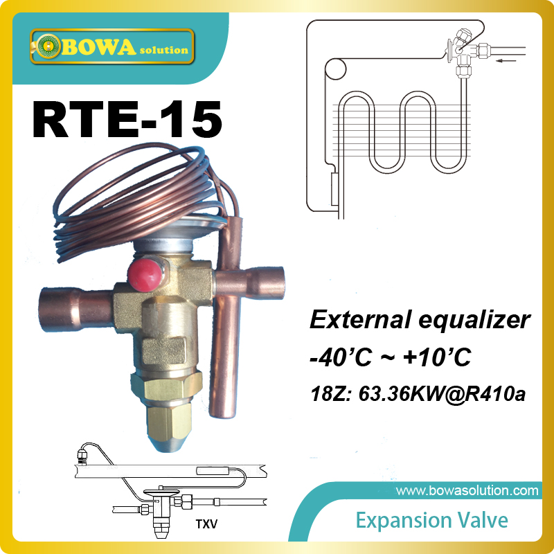 ФОТО RTE-15 offers mechanical thermal expansion valves and electronic expansion valves for a variety of HVAC-R applications
