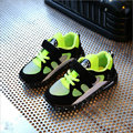Kids Shoes with light 2017 New Spring  children LED Sneakers Breathable for Baby Girls casual shoes for Boys Shoe Size 26~36