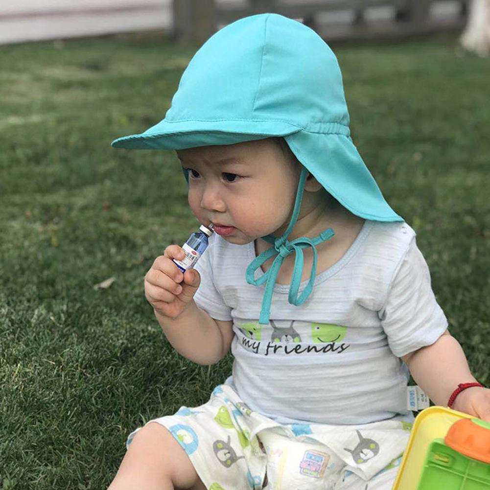Kids Summer Sun Hats Big Brim Sun Protection Breathable Sun Hat Solid Color Hats Soft Allergy Protection Sun Hat San0 Punctual Timing