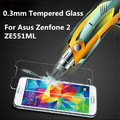0.3mm 2.5D Arc Edge Tempered Glass Anti Explostion Screen Protector Protective Film For Asus Zenfone 2 ZE551ML 5.5 inch