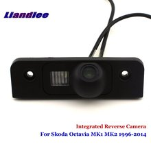 цена на Liandlee Car Rear View Camera For Skoda Octavia MK1 MK2 1996-2014 Rearview Reverse Parking Backup Camera / Integrated SONY HD