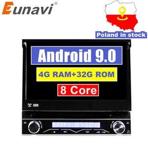 Eunavi 4G RAM 1 Din Android 9.