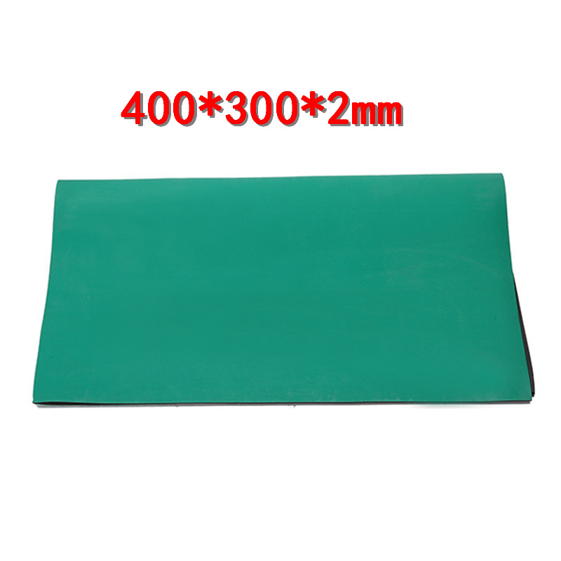 400*300*2mm Anti-static ESD Safe Heat-resistant Repair Pad Desk Mat Maintenance Platform BGA Soldering Repair Station