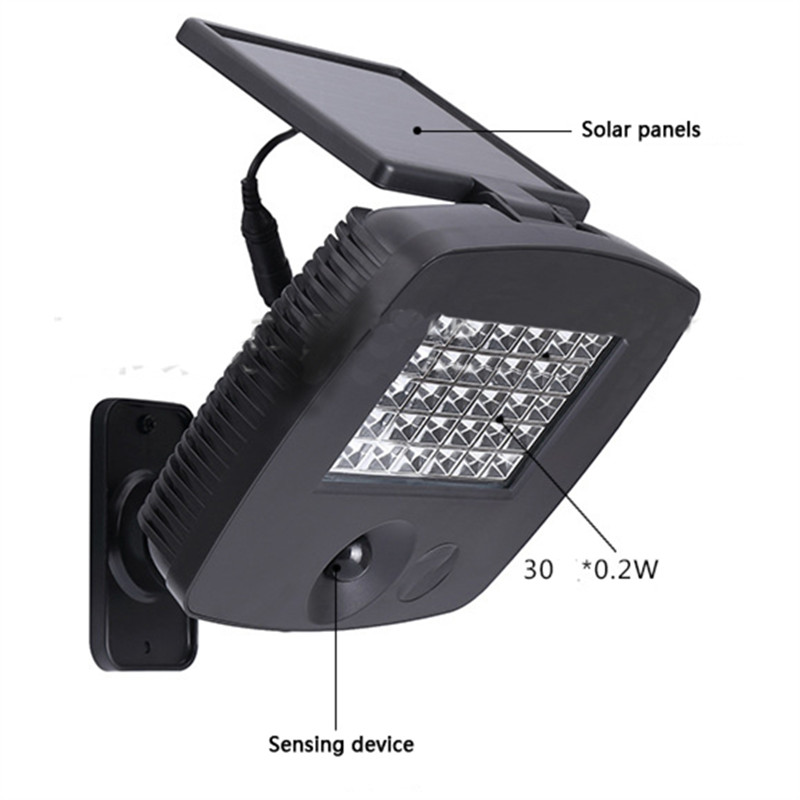 Emergency LED Solar Panel Wall Lamp Super Bright Body Sensor Lights Waterproof Outdoor Shed Indoor Street Garland Lighting Decor emergency auto led solar panel double head lights motion sensor outdoor garden waterproof lamp spotlights super bright lighting