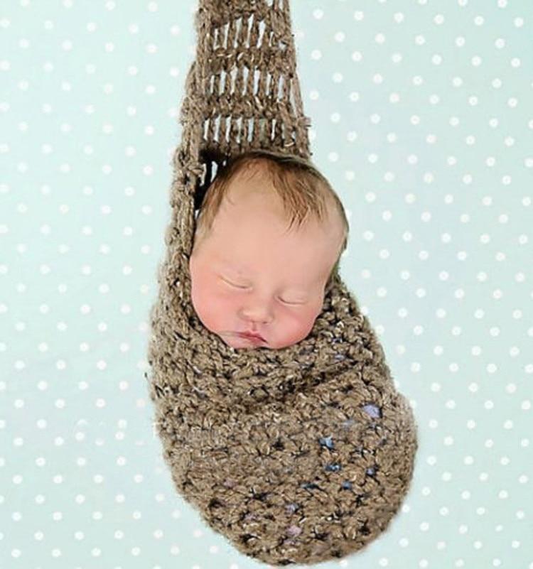 Saco de dormir saco de tricô Bebês e crianças pequenas fotografia - Mobiliário - Foto 1