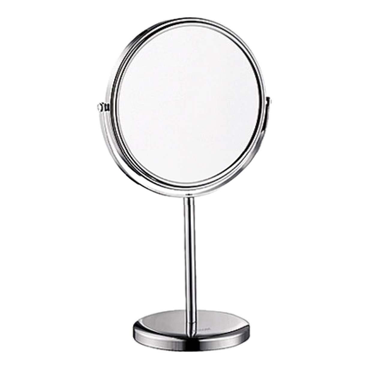 Magnifying mirror WasserKRAFT K-1003 20 led light touch screen make up mirror cosmetic stand mirror 10x magnifying black white