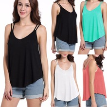 Summer hot Europe and the United States Italy new fashion personality sexy loose temperament vest
