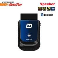 Original Bluetooth Vpecker OBD2 Car Diagnostic Tool Adapter All Systems Diagnostic Scanner Easydiag Vpecker V9 1