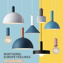 Три креативных скандинавских светильника для ресторана светодиодная