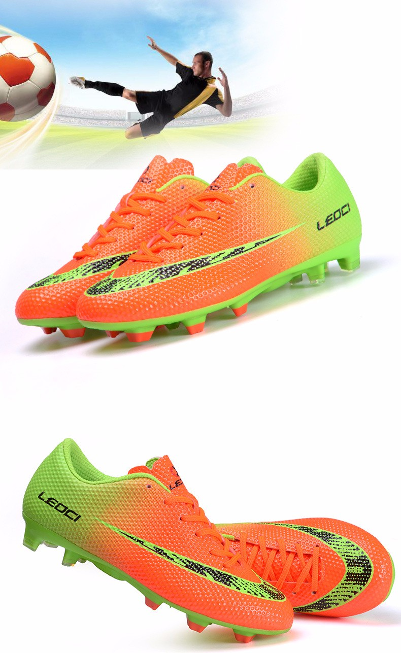 New FG Football Boots Cleats Soccer Shoes Kids Boys Girls Chuteiras botas de futbol voetbalschoenen chaussure foot Chuteiras