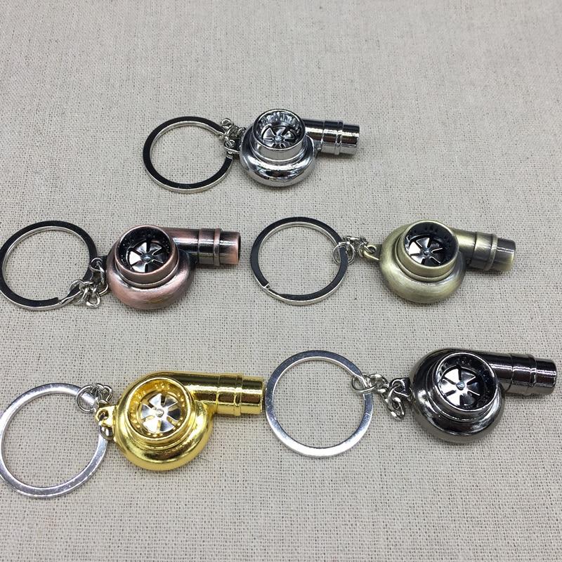 Real Whistle Sound Turbo Keychain Sleeve Bearing Spinning Auto Part - Bil interiör tillbehör - Foto 3