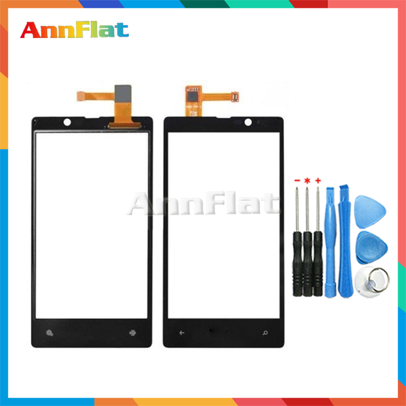High Quality 4.3 For Nokia Lumia N820 820 Touch Screen Digitizer Front Glass Lens Sensor Panel + Tool