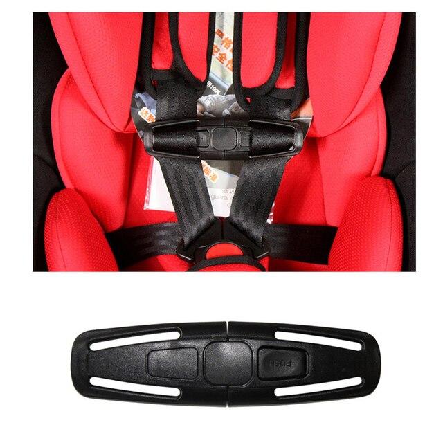 חדש לגמרי תינוק בטוח נעילת רכב ילדי קליפ אבזם תפס בטיחות מושבי כיסא רצועות חגורת לרתום קשרים