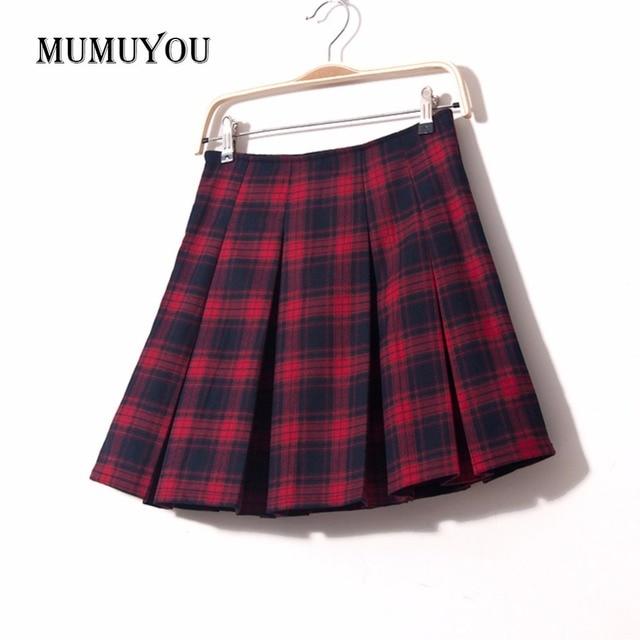 Dames Tartan Mélange Laine Des Scottish Mode Femmes Plissé Scotland zGUMVqSp