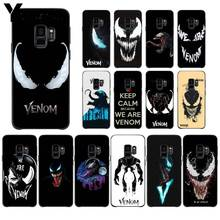 Yinuoda Venom Simple Phone Shell for Galaxy S6 Edge Plus S7plus S8plus S9plus S6 S7 S9 S6 edge S7 edge Case lantro js phone sceen protector for samsung s7 edge s7 s6 edge s6 edge s8 s8plus s9 s9plus 3d cured full screen 0 2mm thickness