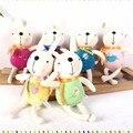 2 pçs/lote Bicho de pelúcia Macia Do Bebê Brinquedos de Pelúcia De Coelho Angela Metoo Keppel Boneca Coelho de Pelúcia Do Bebê Carrinho De Criança Precoce Educacional Boneca
