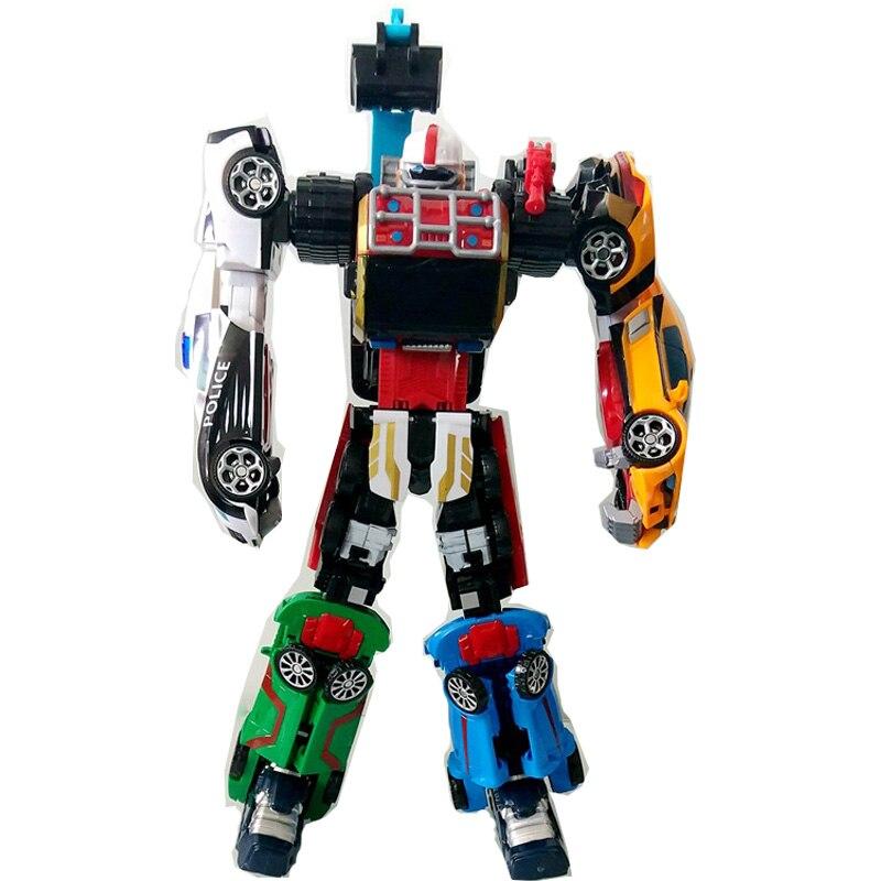 Nuevo Tobot Transformation Robot juguetes de dibujos animados Tobot súper grande 42 CM 6 en 1 fusión modelo de Robot de deformación juguetes para niños regalos de navidad-in Figuras de juguete y acción from Juguetes y pasatiempos    1
