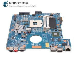Image 2 - NOKOTION Voor Sony Vaio PCG 61911W VPCEG VPCEG18FG Laptop moederbord HM65 DDR3 GT410M 48.4MP01.021 MBX 250 MAIN BOARD