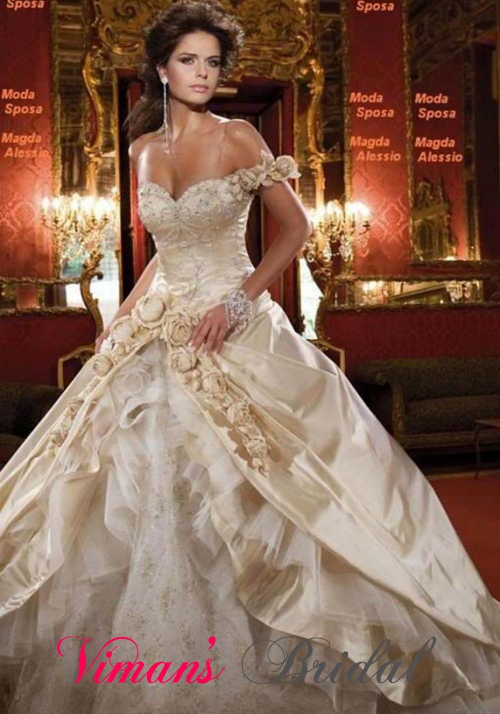 2017 in stock sexy wedding dresses high end wedding dress womens ...