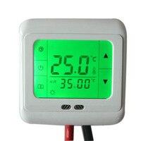 Digital Touch Screen Auto Control Temperature Heating Thermostat Floor Heating Temperature Controller