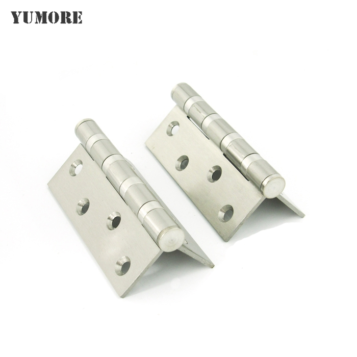 High quality Stainless steel heavy duty door hinge extra-thick 4*3*3 inch cabinet door hinges 5 Pairs/Lot прихожая машенька 12