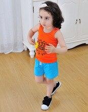 TTN Summer Cotton Boy Shorts Kids Cool Boy Shorts Girl 2017 Candy Clothing Brand Baby Boy Shorts Clothing Hot Sale