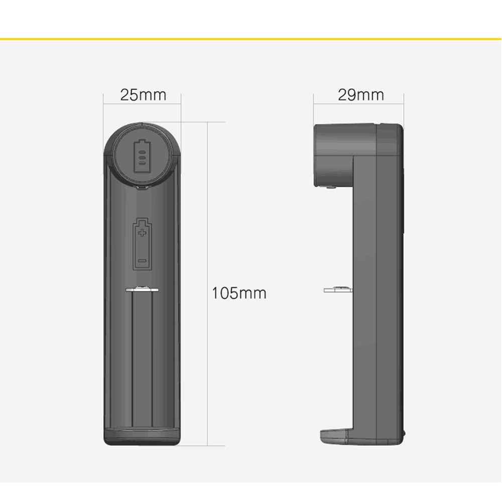 USB ميناء بطاريات شاحن حماية شاحن بطاريات متعددة ل 18650 ليثيوم أيون