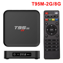 Sunvell T95M S905 Inteligente Android TV Box Set Top Box Amlogic Quad Core Kodi 64Bit Android 5.1 4 K HD 2.4 GHz 16.0 Reproductor Multimedia Inteligente