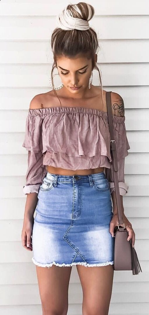 girls blouse street wear solid ruffle sweet skirt Europe style korean hot sales off shoulder neckline short